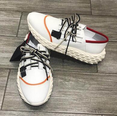 2019 Moda tasarımcısı adam kadınlar için Rahat ayakkabılar Urchin elbise snesakers yüksek kalite dikenli sole İtalya rahat ayakkabılar 35-46 F035 55