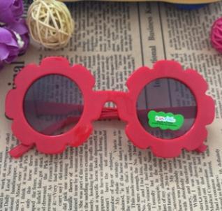 # 1 عباد الشمس الإطار الاطفال النظارات الشمسية