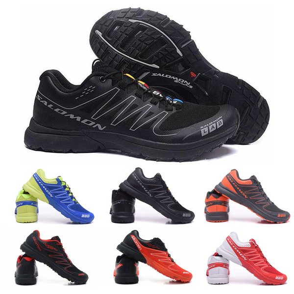 2019 Cheap Salomon S Lab Sense M Running Sneakers Best Quality Mens Shoes New Fashion Athletic Running Sports Outdoor Hiking Shoes Size 40 46 From