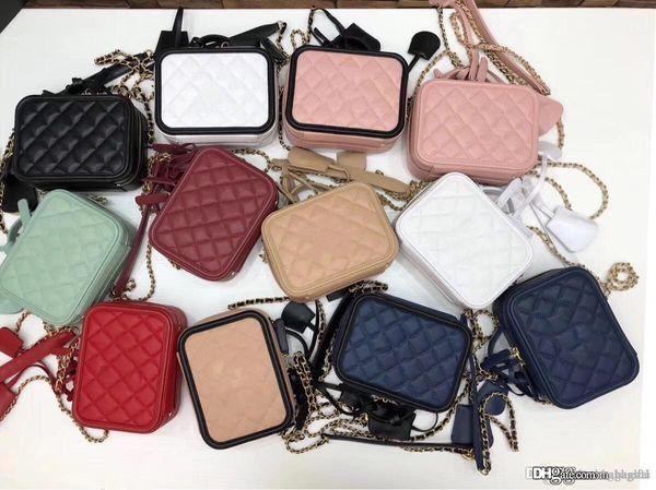classiques de la mode Sac cosmétique épaule BagsCross BodyToteshandbags marque mode TOP sacs de créateurs de luxe célèbres femmes les plus populaires Cowhide 01V