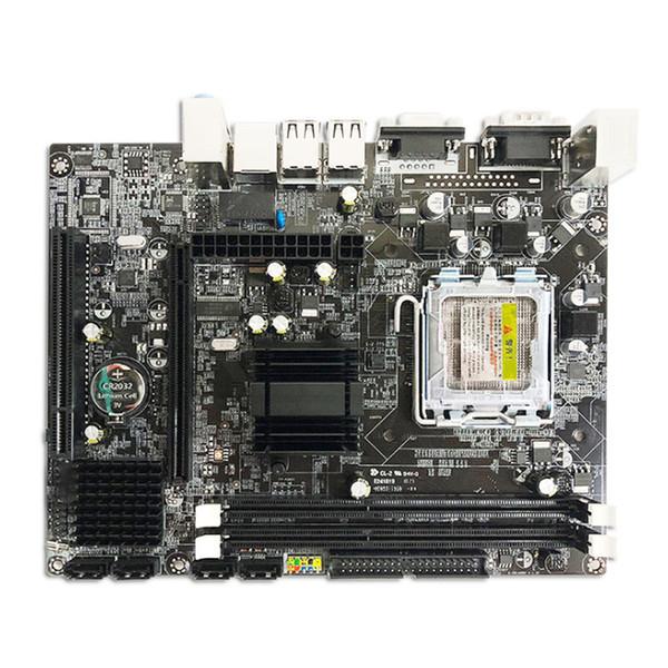 Motherboard 755 G41 para CPU Intel Core2 Extreme / Quad / Duo / Pentium / Celeron LGA775 soquete T