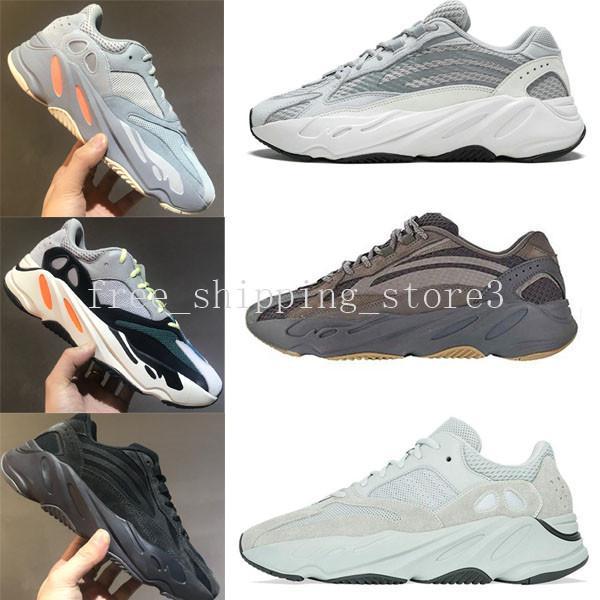 Running Shoes 2019 Static 700 Vanta Wave Runner Men Women Salt Mauve Inertia 700 V2 Kanye West Designer Shoes Sports Sneakers