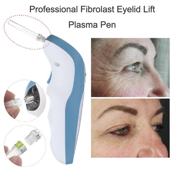 Fibroblast Profesional Lifting facial Párpado estiramiento de la piel Plasma Pluma Punto de arruga Mollmapen de eliminación de mole con luz y Máquina de belleza de alta calidad