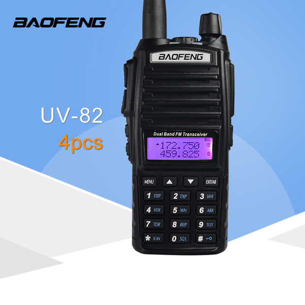 BaoFeng UV-82 Dual Band Two-way Radio VHF 136-174 UHF 400-520mhz Walkie Talkie