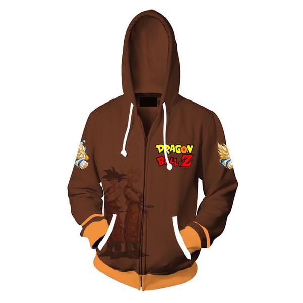 Newest Z hoodie Sweatshirt Anime Cosplay Costume Men Zip up Coat Jacket