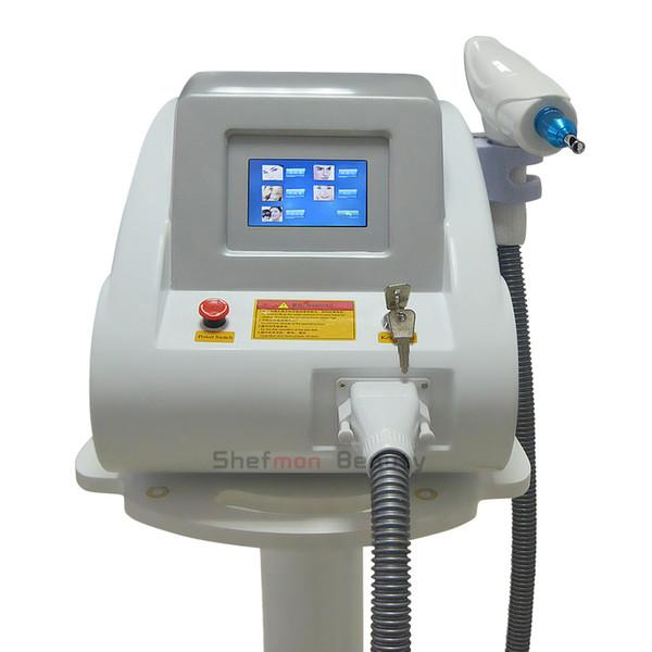 Портативный 1064nm 532nm с модуляцией добротности Nd Yag лазерное удаление татуировки лечение акне удаление волос удаление пигмента оборудование для продажи