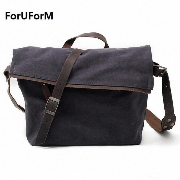 Pop Tide Nice Men Messenger Bags High Quality Mens Travel Bag Male Shoulder Bag Classical Design Mens Canvas Bags Li-1821