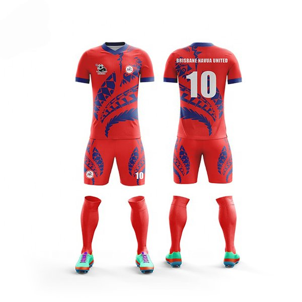 6d4addce5 Custom adult Men football kit uniform home soccer jersey set full  sublimation print personalized soccer jersey