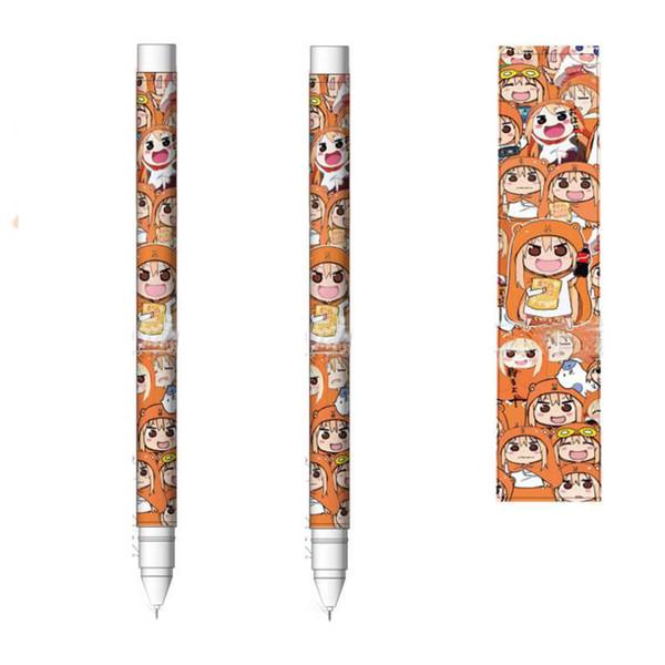 1 Pcs Anime Himouto Umaru-chan 0.5mm Gel Stylo École Outil Outil Fête D'anniversaire Décoration Favors Fournitures Ami Cadeau