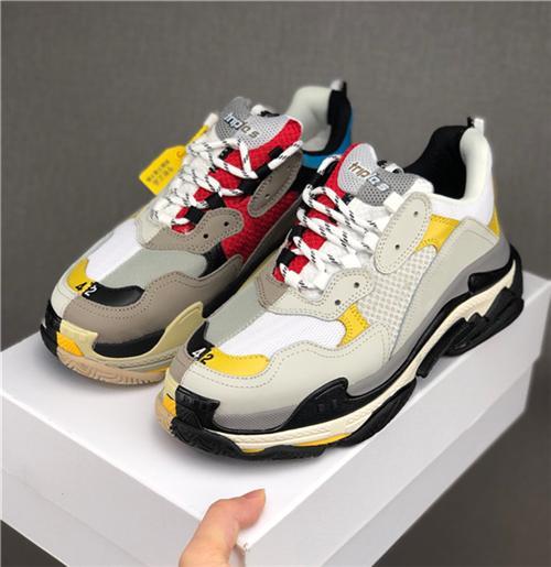 Top Qualität Luxus Freizeitschuhe Triple-S Clean Sneakers Männer Frauen Jogging Party Schuhe Triple S Freizeitschuhe Wanderschuh Papa Schuh Sneakers