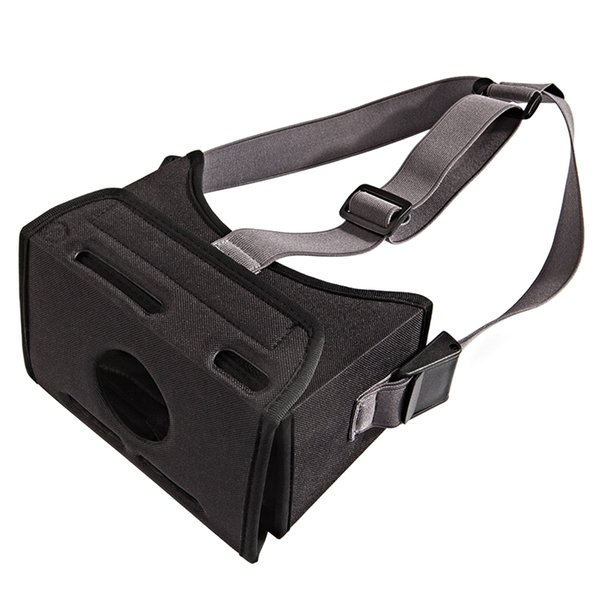 Black Movie VR Game Fashion Home Realidad Virtual Universal Durable Correa Estirada Gafas 3D EVA Montado Para Interruptor