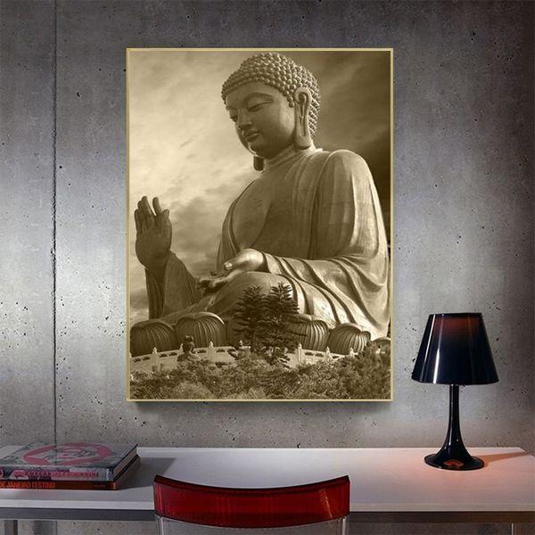 Full Square Diamond Painting Buddha Picture Of Rhinestone 5D DIY Diamond Embroidery Cross Stitch People Mosaic Home Decor Gift