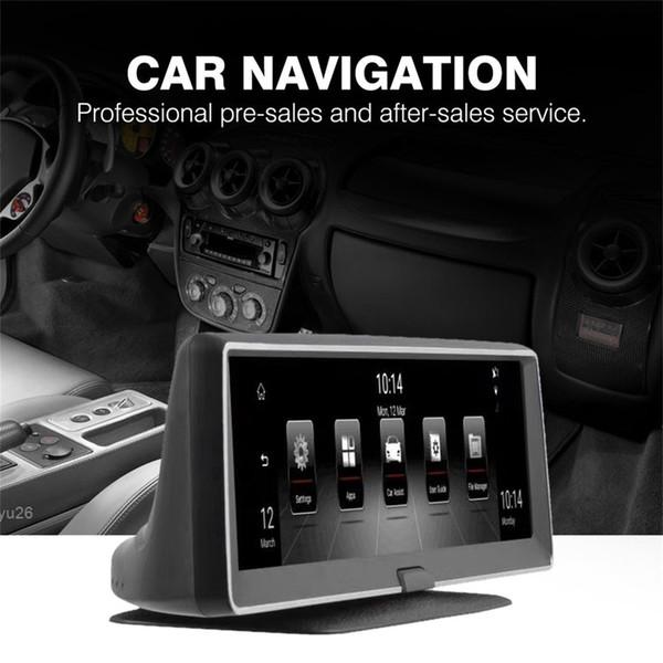 Novela Navegación GPS quad-core de 7,84 pulgadas con pantalla táctil capacitiva Bluetooth WIFI Pantalla táctil para Android 5.0