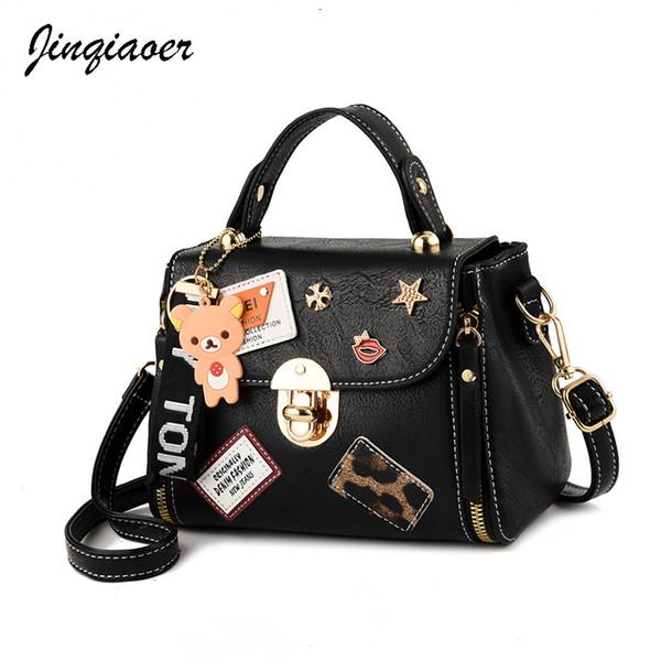 Женщина повседневная сумка женская мода мультфильм прекрасный мини сумки на ремне путешествия сумки партии макияж сумка bolsos mujer милый коричневый медведь