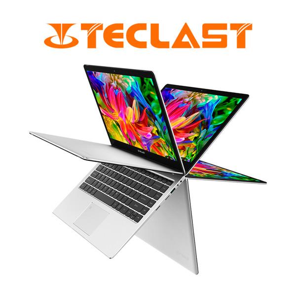 top popular Teclast F6 Pro 360 Degree Laptop Windows 10 OS 13.3 inch 1920x1080 8GB RAM 128GB SSD Intel Core m3-7Y30 Dual Core Notebook 2019