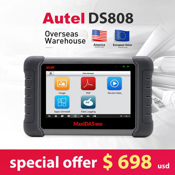 2018 New Arrival Autel Maxidas DS808 Online Update Automotive diagnostic-tool DS 808 Scanner UPDATE VERSION from Autel DS708