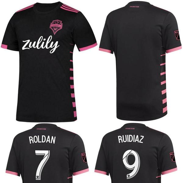 pretty nice 7bdab db8c4 2019 2019 2020 Men MLS Seattle Sounders FC Soccer Jersey MORRIS RUIDIAZ  Away Black Nightfall Football ROLDAN Top Uniform LODEIRO TORRES On Sale  From ...