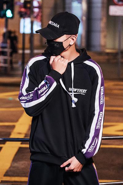Wholesale hot sale pop black Sweatershirt style design men multicolor fashion hoodie Jacket Spring fleece sportswear #CW20