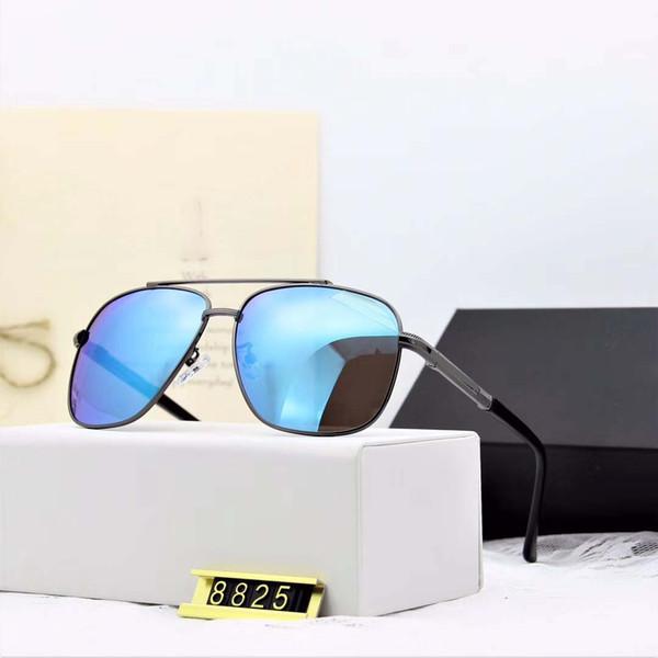 sonnenbrille polaroid hd objektiv vakuum farbfilm modell 8825 ist die neue polarisierte metall sonnenbrille für männer 2019