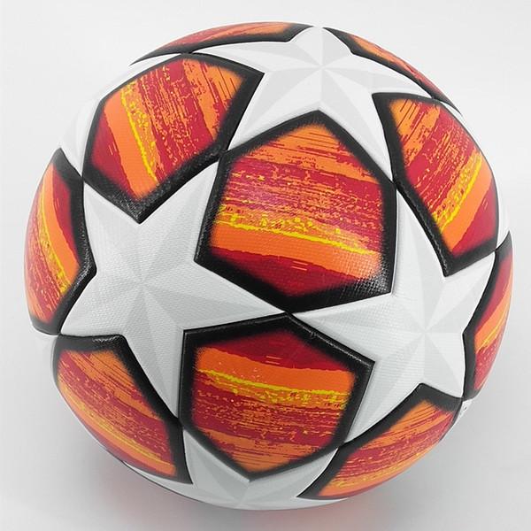 best selling 2019 A++ 18 19 League Soccer Ball Red Madrid 19 Final Balls PU high grade seamless paste skin football ball Size 5