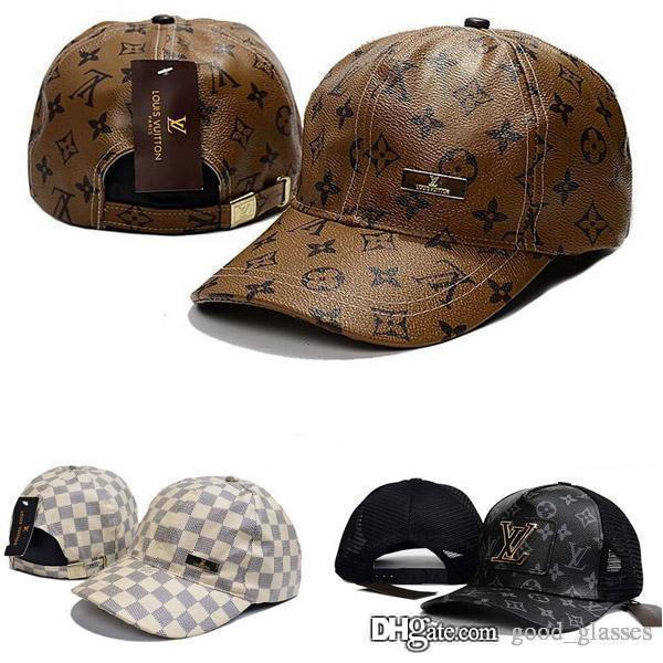 Fashion Men Women L Cap Brand Sports Hats M Leather Baseball Caps Hip Hop  Superm Snapbacks a229a7d69