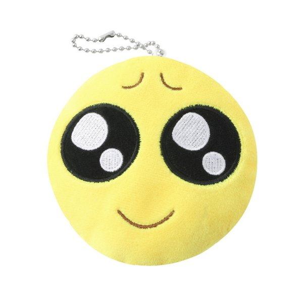Magnificent Cute Face Key Chain Phone Emoji Emoticon Yellow Cushion Soft Stuffed Plush Toy Key Chain Fast Top Quality Top Quality Designer Keyrings Monkey Fist Ocoug Best Dining Table And Chair Ideas Images Ocougorg
