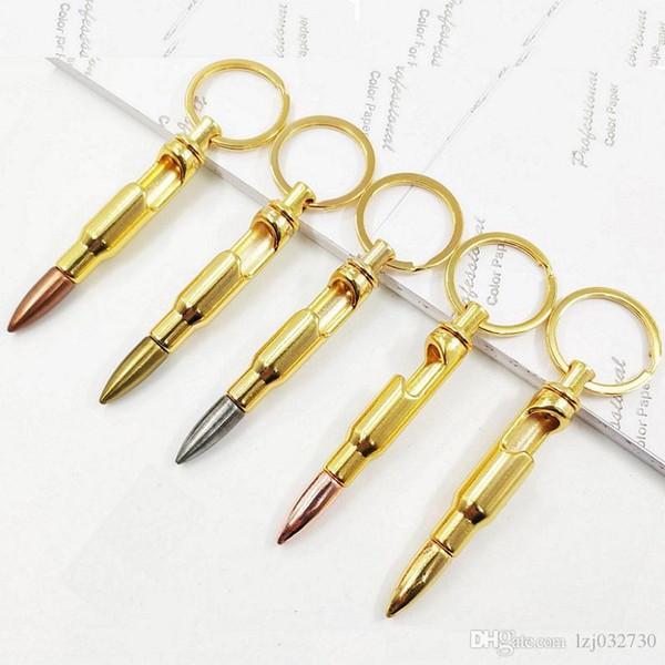 Yeni Bullet Şişe Açacakları Çinko Alaşım Anahtarlık kolye Bullet Modeli Bira Şişe Açacağı Anahtarlık Bar Gadget Metal Mutfak Aletleri A151