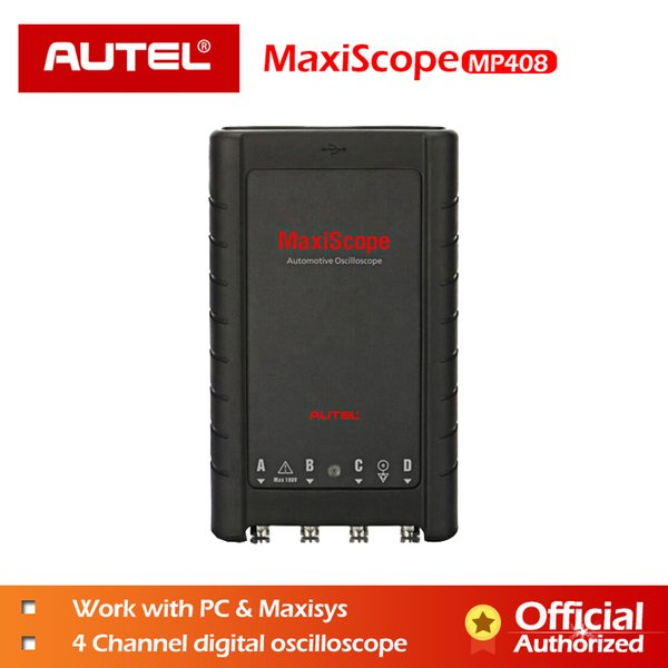 AUTEL MaxiScope MP408 Basic Kit Automotive Oscilloscope Read Display Electrical Signals 4 Channel PC Maxisys Diagnostic Tool