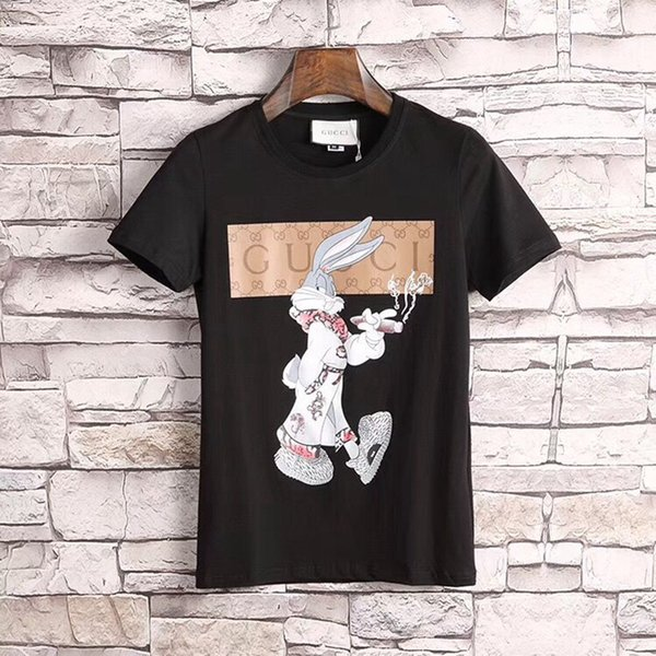 d8f27e6aa064 2019 new spring/summer trend European and American men's casual breathable T -shirt -
