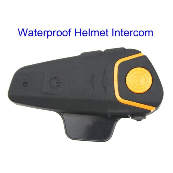 BT-S2 Su Geçirmez Kask Interkom Motosiklet Kulaklık Otomatik Bluetooth Handfree Interkom FM Radyo Ücretsiz Kargo Ücretsiz Kargo