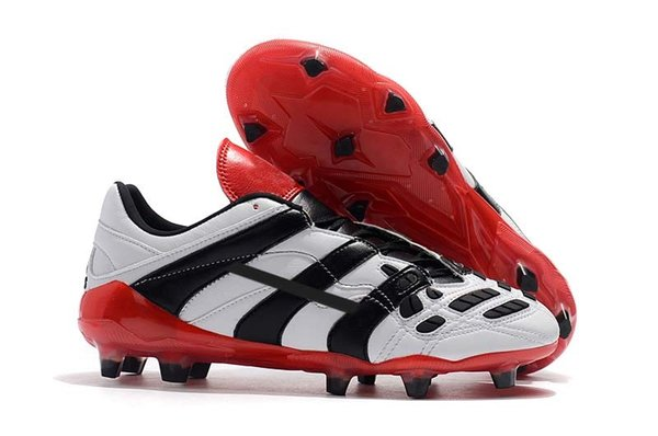 9.White Red/Black FG