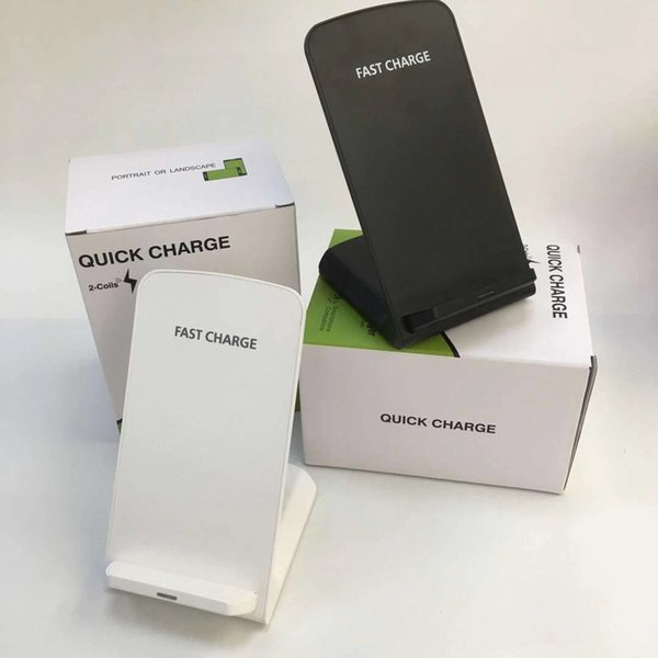 10w univer al qi wirele charger q740 for am ung note9 galaxy 10 iphone x x mobile pad with package u b cable