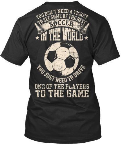 t-shirt da uomo di design T-Shirt da calcio di Soccer Dad