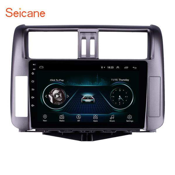Stereo da 9 pollici Android 8.1 per auto per il periodo 2010-2013 Toyota Prado 150 con navigazione GPS Bluetooth Supporto WIFI per musica OBD2 3G Telecamera retrovisiva