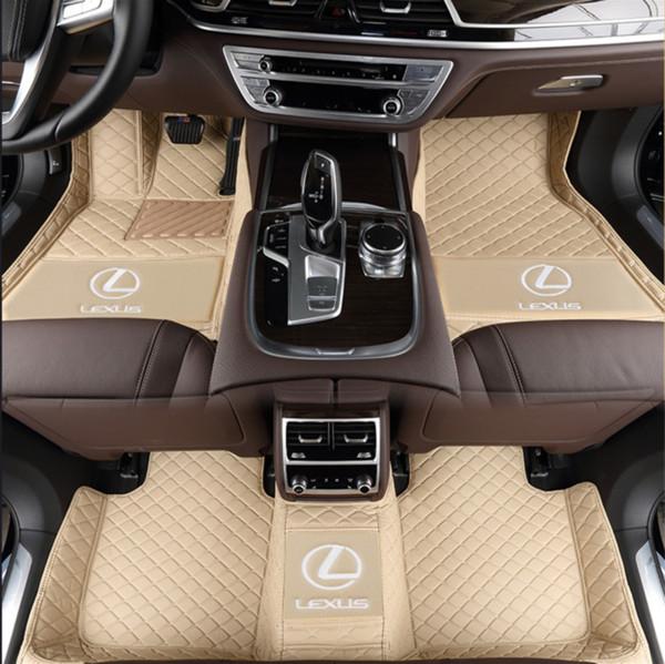 Car mats are suitable for lexus LX 570 2007-2015 anti-skid nontoxic mats