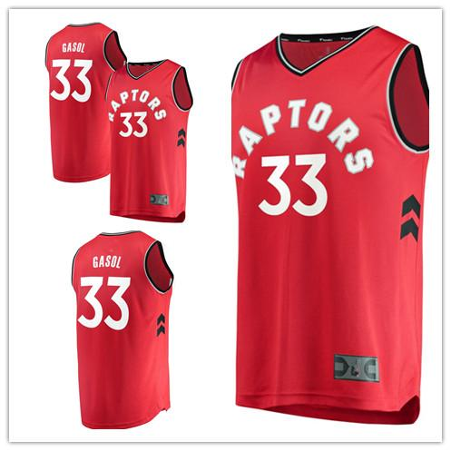 the latest fd2a3 01d36 2019 Custom 2019 Men'S Raptors 33 Marc Gasol Fanatics Branded Red Fast  Break Replica Toronto Women Kids Jersey From Newlife008, $25.88 | DHgate.Com