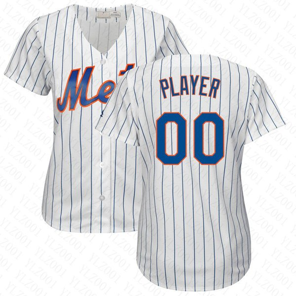 buy online 2d9a8 03a03 2019 Womens Jacob DeGrom Jersey Custom NY Mets Stitched Noah Syndergaard  Edwin Diaz Robinson Cano Ladies Michael Conforto Baseball Jersey From  Ylz002, ...