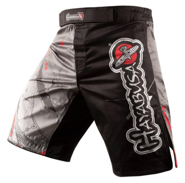 Оптово-мужские шорты MMA Fight Hayabusa Shiai Fight Clothes Мужские шорты 11 стилей