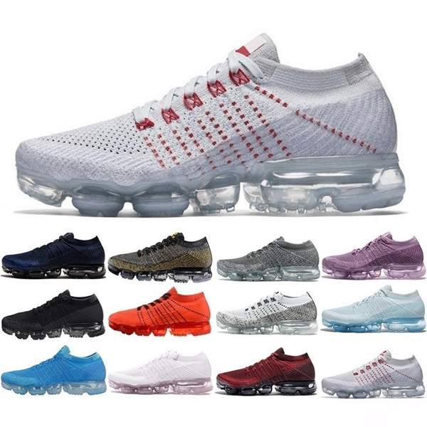 2018 Nuovo arrivo Uomo Donna Shock Racer Triple Scarpe da corsa nere per scarpe da uomo moda di alta qualità Sneakers sportive Scarpe da ginnastica 36-45
