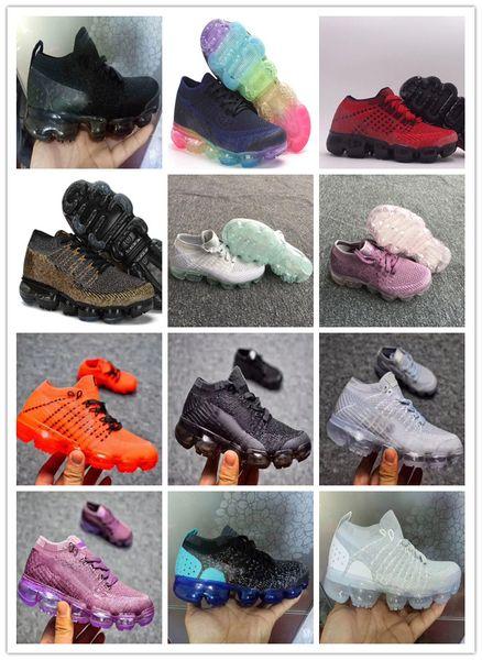 Großhandel Nike Air Max Airmax Vm 2019 Neue Laufende Schuhe Der Kinderkinder Kinder Jungen Und Mädchen Mode Oudoor Training Sportschuhe Größe 11C 3Y