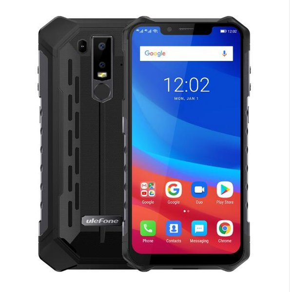Ulefone Armor 6 Waterproof IP68 NFC Rugged Mobile Phone Helio P60 Otca-core Android 8.1 6GB+128GB Wireless charge Global version
