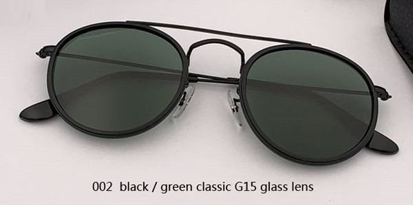 002 black/G15 glass lens