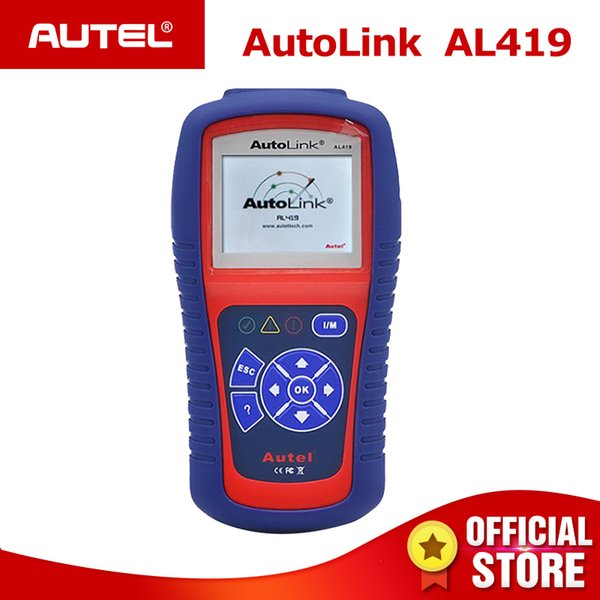 Autel Autolink AL419 CAN OBDII Scanner OBD2 Auto Diagnostic Tool ODB2 Code Reader OBD 2 Scan Better Than Al319