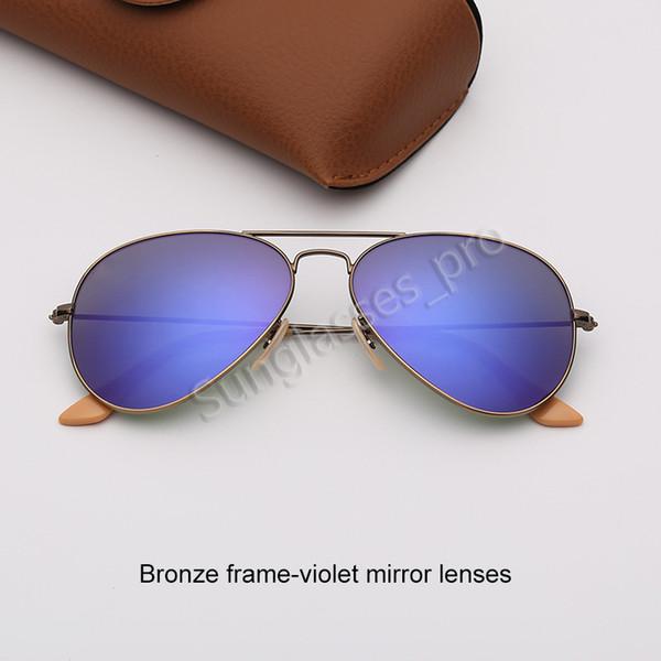 Bronz Çerçeve-Menekşe Ayna Lensleri
