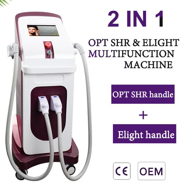 Best OPT SHR ipl laser hair removal machine ipl Elight skin rejuvenation machine radio frequency skin tightening beauty equipment