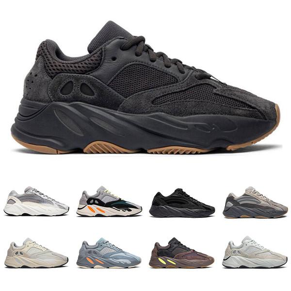 Acheter 2019 Nouvelles Adidas Yeezy Boost 700 Chaussures De Course Pour  Homme Utilitaire Noir Vanta Tephra Analog Geode Inertia Mauve Baskets Mode