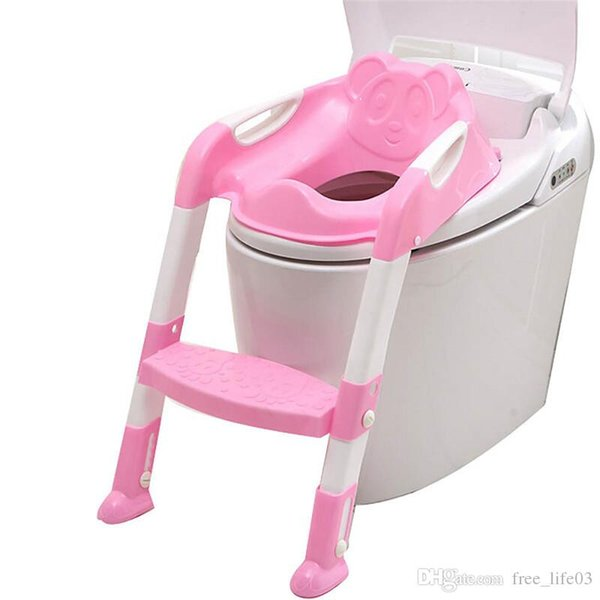 Magnificent 2019 Baby Kids Foldable Potty Trainer Chair Toilet Seat Safety Non Slip Step Ladder Stool New From China Wholesale14 21 11 Dhgate Com Gamerscity Chair Design For Home Gamerscityorg