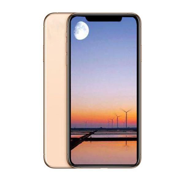 Dual SIM 6.5inch Goophone XS MAX Quad Core MTK6580 Face ID Smartphones 1G/16G Show Fake 4G/256G 4G lte Unlocked Phone