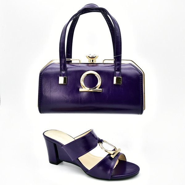 2019 brand fashion designer luxury handbags purses for women Heeled shoes and bag sets Beading Bijpassende Schoenen en Tassen italiaanse In