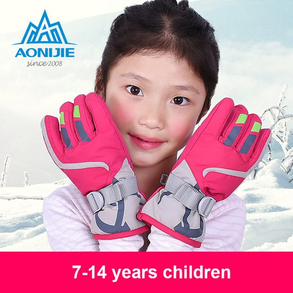 Winter Gloves Toddler,Baby Warm Gloves Snow Gloves Full Finger Mittens with Straps
